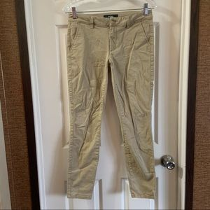 Aeropostale Aero Tan Skinny Khaki Pants size 2 Reg